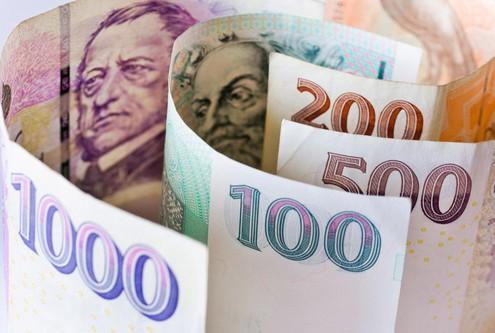 Česká ekonomika a finance - papírové peníze