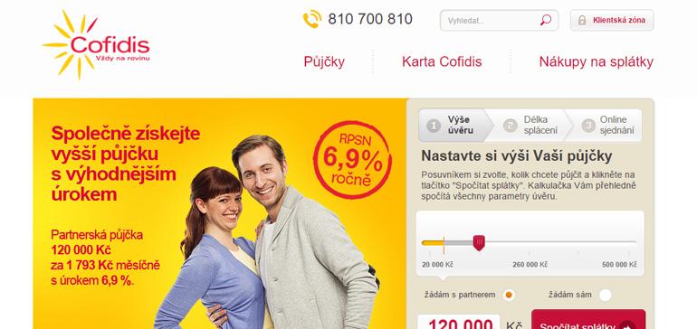Recenze půjčky od COFIDIS s.r.o.