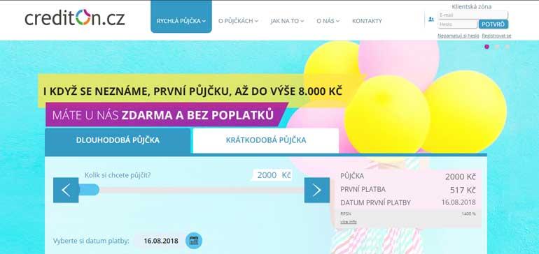 Recenze a zkušenosti s půjčkou CreditOn.cz