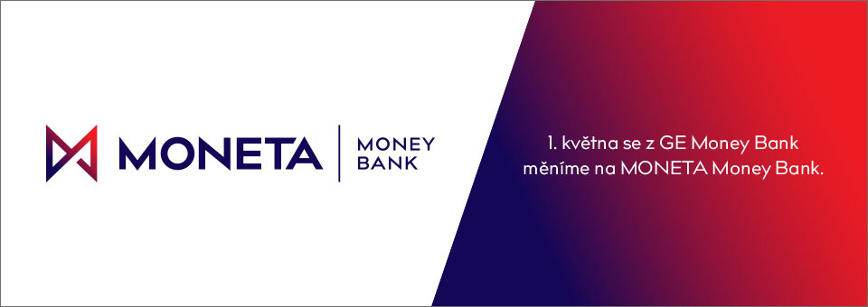 1. května se z GE Money Bank měníme na Moneta Money Bank.