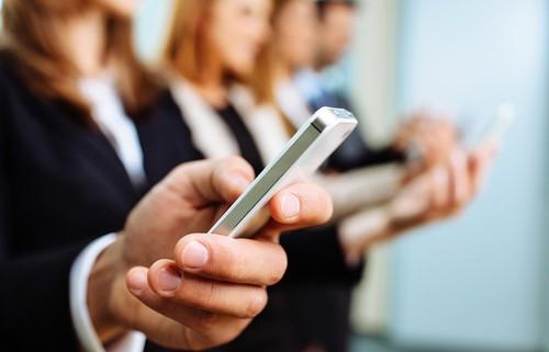 SMS zpráva - ilustrační obrázek.