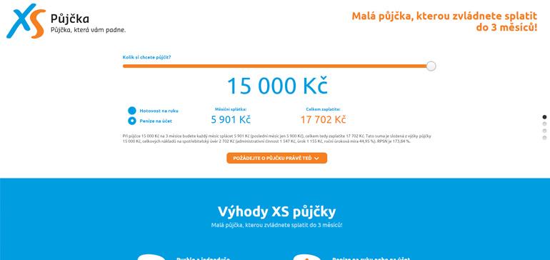 Recenze XS půjčky od poskytovatele nebankovních půjček Provident Financial s.r.o.